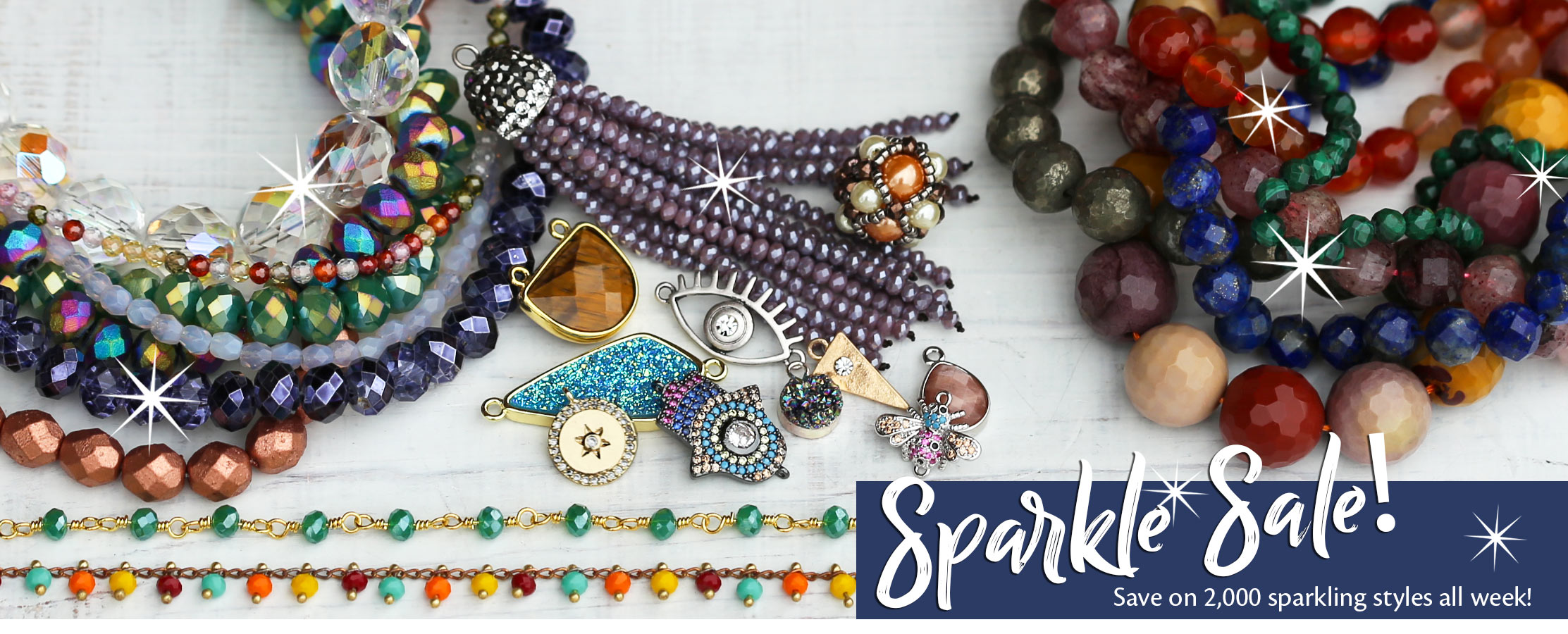 Sparkle Sale at Lima Beads