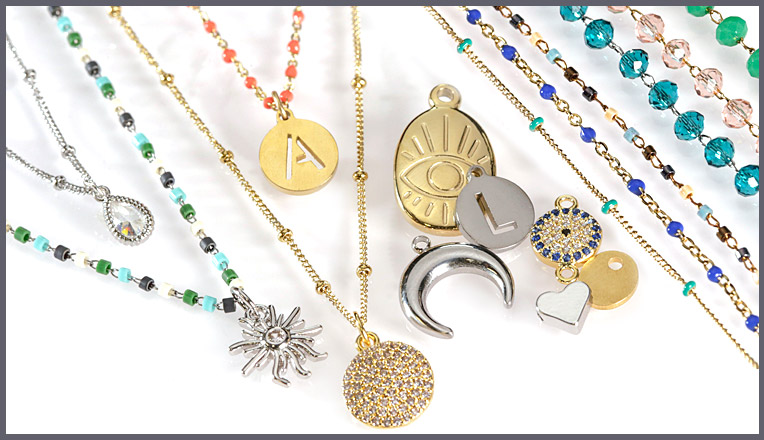 Stainless Steel Charms & Pendants