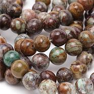 African Green Opal Beads