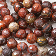 Poppy Jasper Beads