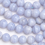 Blue Lace Agate Beads