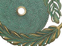 Zola Elements Patina Green Brass Supplies