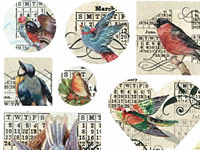 Nunn Design Collage & Transfer Sheets