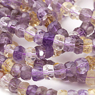 Ametrine Beads