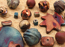 XAZ Raku Beads