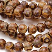 Tibetan (Dzi) Agate Beads