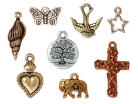 TierraCast Charms & Pendants