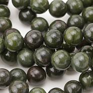 African Green Jasper Beads