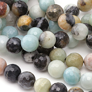 Black Gold Amazonite Beads