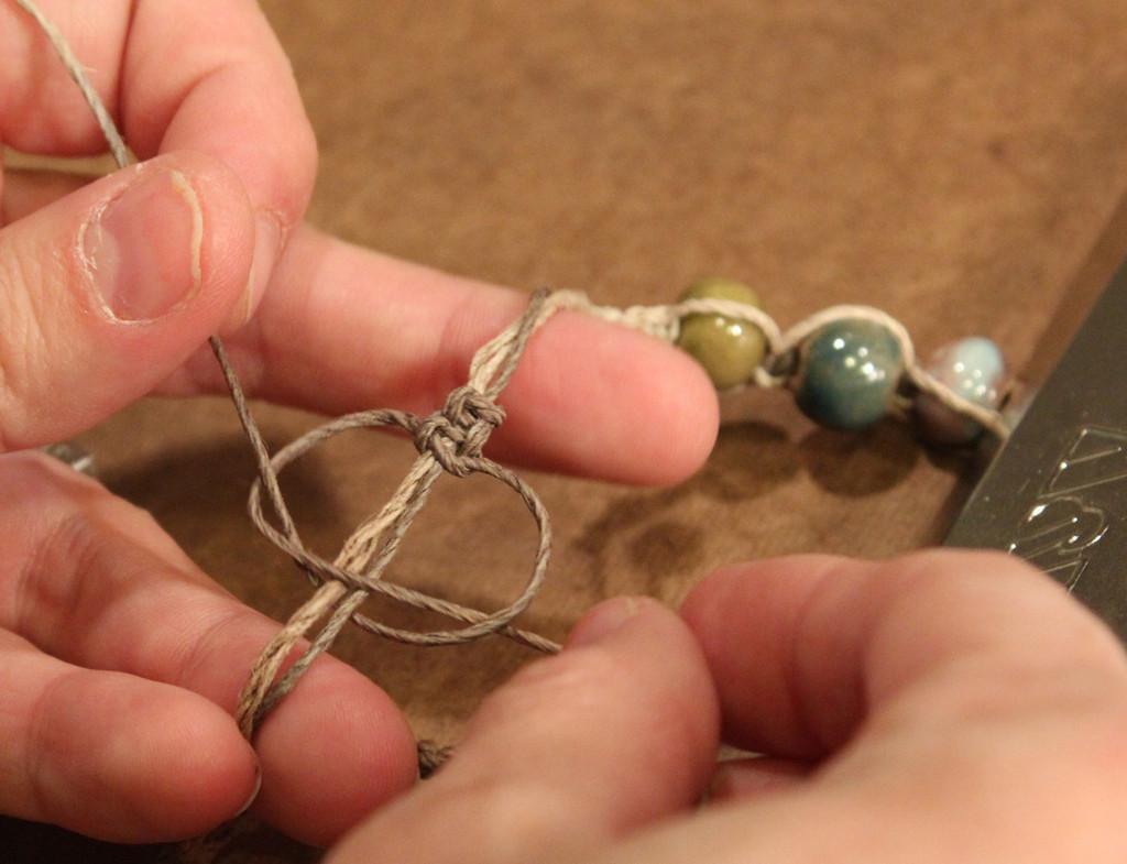 Castaway Beaded Macrame Bracelet Customer Design Lima Beads