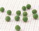 Leaf Green Felt Round 10mm