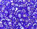 TOHO Cobalt (with Silver Lining) Round 8/0 Seed Bead
