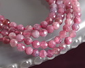 Pink Tourmaline Faceted Round 3.5mm