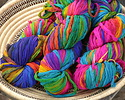 Fairy Garden Silk Chiffon Ribbon Yarn