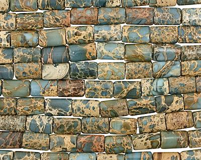 Blue Impression Jasper Thin Pillow 18x12mm