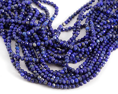 Lapis (A) Faceted Round 4mm