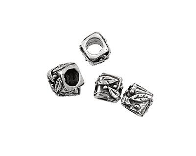 Rustic Charms Sterling Silver Vine Slide 9mm