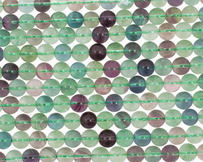 Rainbow Fluorite Round 10mm