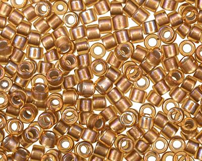 TOHO Gold Lined Topaz Treasure #1 Seed Bead