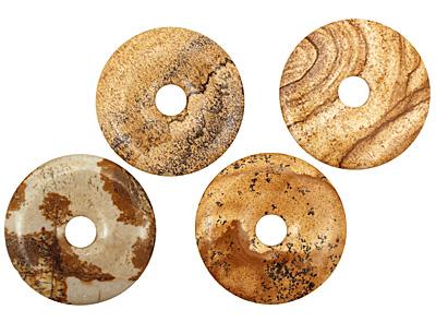 Picture Jasper Donut 40mm