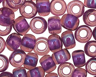 TOHO Rainbow Rosaline (with Opaque Purple Lining) Round 6/0 Seed Bead