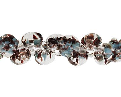 Unicorne Beads Exotic Seafoam Teardrop 7x9mm