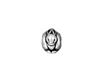 TierraCast Antique Silver (plated) Rabbit Euro 9x10mm