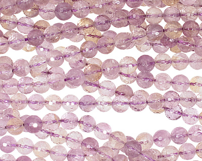 Ametrine Faceted Round 8mm