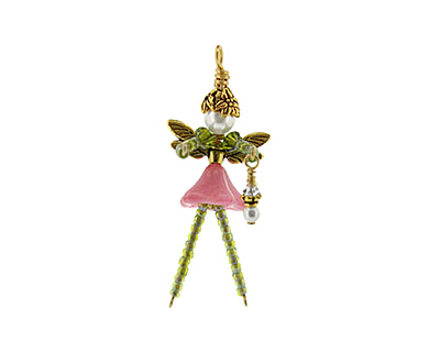 Glass Garden French Pink Fairy Kit