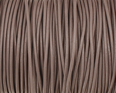 Erica Round Leather Cord 2mm