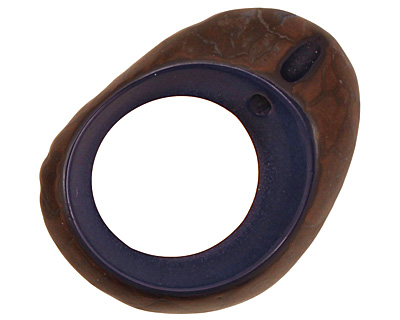 Tagua Nut Royal Open Slice 33-45x24-36mm