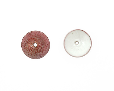 C-Koop Enameled Metal White Disc 3-4x18-20mm