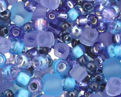 TOHO Amamizu Blue Seed Bead Mix