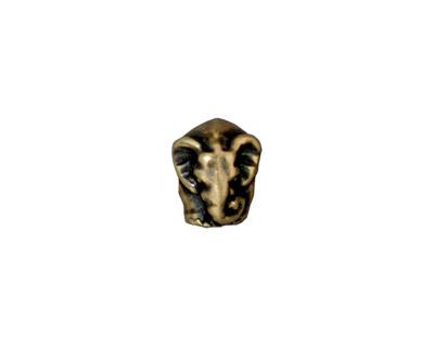 TierraCast Antique Brass (plated) Elephant Euro 9x11mm