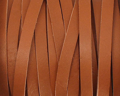 Light Brown Leather Belting Lace 5mm