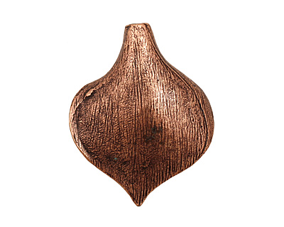 Ezel Findings Antique Copper (plated) Single Calla Lily Cone 26x32mm