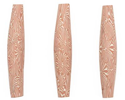 Humble Beads Polymer Clay Chrysanthemum 9-10x52-54mm
