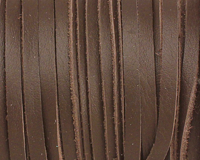 Chocolate Deertan Leather Lace 3mm