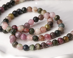 Tourmaline Faceted Round 4-4.5mm