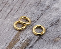 Gold (plated) Round Jump Ring 4mm, 20 gauge