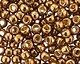 TOHO Permanent Galvanized Medal Bronze Round 8/0 Seed Bead