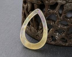 Zola Elements Opal Acetate Open Drop Focal 22x31mm