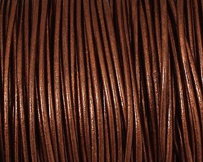 Tamba (metallic) Round Leather Cord 1.5mm
