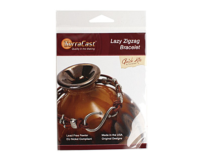 TierraCast Lazy Zigzag Bracelet Kit