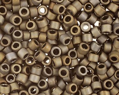 TOHO Frosted Metallic Iris Brown Treasure #1 Seed Bead
