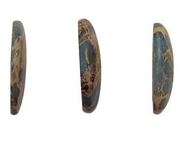 Blue Impression Jasper Freeform Cabochon 12-26x18-36mm