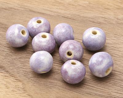 Gaea Ceramic Purple Haze Organic Round 9-10x12-13mm