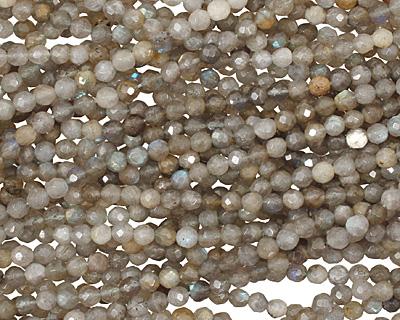Labradorite Faceted Round 5-6mm