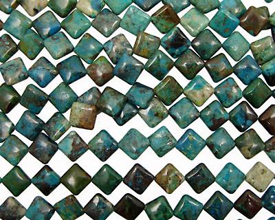 Chrysocolla Diamond 16mm