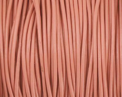 Honeydew Round Leather Cord 1.5mm